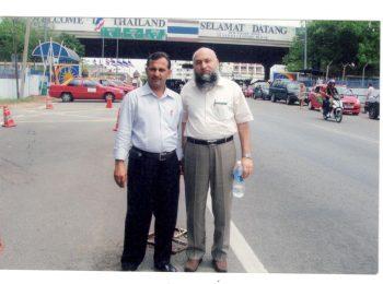 Chairman Hf with Coordinator from Malaysia Mr. Fazal Rehman Bun
