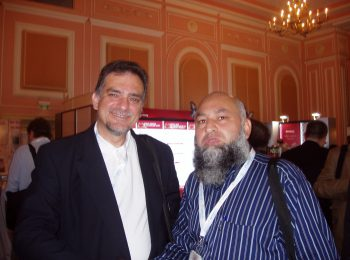 Chairman HF with Mr. Stavoros (UK) in TIF conference at TURKEY